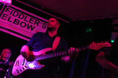 Bora on Bass at Fiddlers Elbow