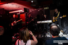 Denzeity with the crowd at the RockSteady in Dalston