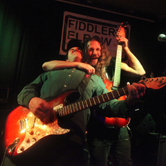 Mike And Simon At Fiddlers Elbow