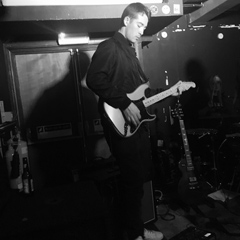 Tom playing at the RockSteady in Dalston